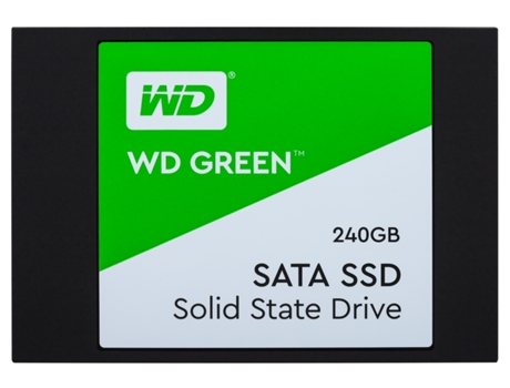Disco SSD WESTERN DIGITAL Green 240GB 3D (Wds240G2G0A) — SSD Interno | 240GB | SATA