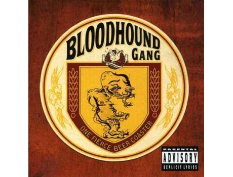 CD Bloodhound Gang - One Fierce Beer Coaster — Pop-Rock