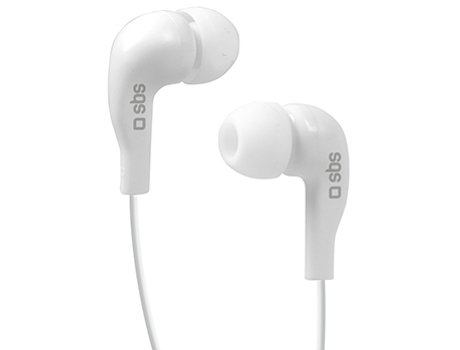 Auricular Stereo In-ear 3,5mm SBS Branco