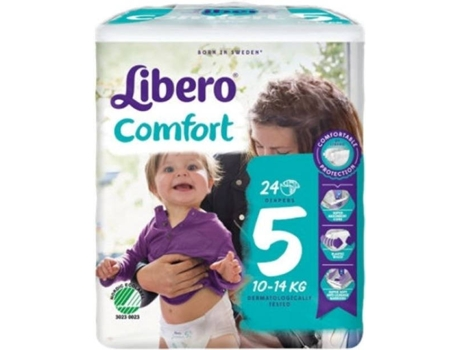 Fraldas LIBERO Comfort 5 (24 Unidades)