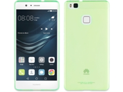 Capa MUVIT Crystal Soft Ascend P9 Lite Verde — Crystal Soft