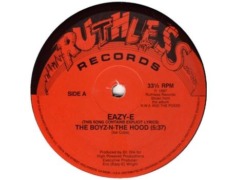 Vinil Eazy E The Boyz N The Hood Worten Pt