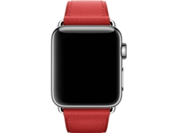 Bracelete APPLE Watch Red Classic Buckle — 38mm  | Smartwatch não incluído