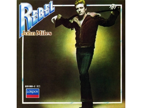 CD John Miles - Rebel — Pop-Rock