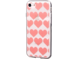 Capa KUNFT Christmas Hearts iPhone 7, 8 — Compatibilidade: iPhone 7, 8