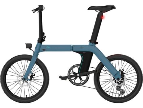 FIIDO - Bicicleta Elétrica FIIDO Dobrável D11 20 (Autonomia: 80/100 km  Velocidade Máx: 25 km/h)