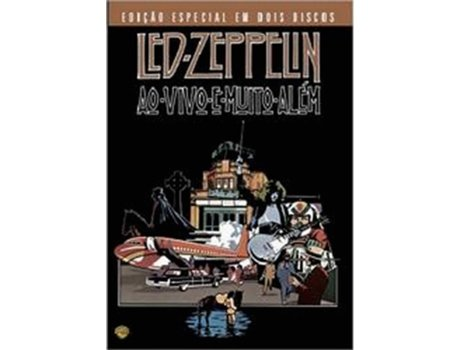 DVD Led Zeppelin ao Vivo e Muito Além ed — De: Peter Clifton, Joe Massot | Com: Led Zeppelin