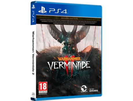 Jogo PS4 Warhammer: Vermintide 2 (Deluxe Edition)