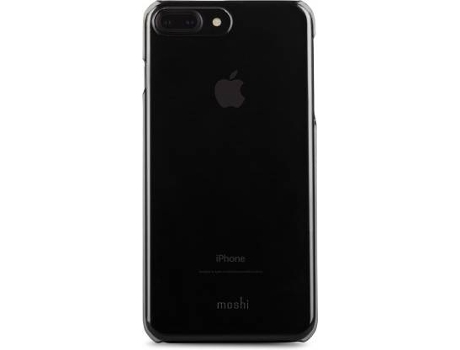 Capa MOSHI iGlaze iPhone 7 Plus, 8 Plus Preto — Compatibilidade: iPhone 6 Plus, 6s Plus, 7 Plus, 8 Plus