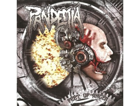 CD Pandemia  - Feet Of Anger