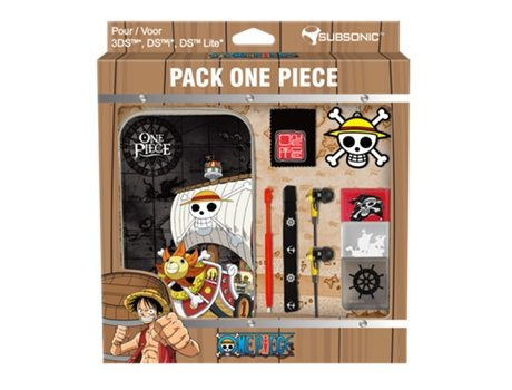 Pack Bolsa SUBSONIC ONE PIECE — Compatibilidade: Nintendo New 3DS | 3DS | Dsi | DSLite