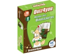 Quiz Science4You Dinossauros — Animais e Natureza | 9+