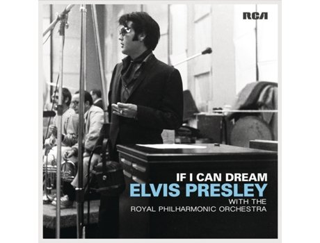 Vinil Elvis Presley with the Royal Philharmonic Orchestra - If I Can Dream — Pop-Rock
