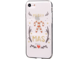 Capa KUNFT Christmas iPhone 7, 8 — Compatibilidade: iPhone 6, 6s, 7 ,8