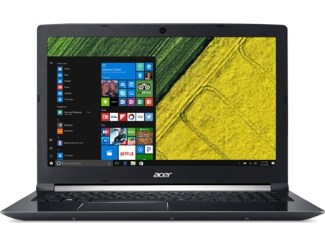 Portátil 15.6'' ACER Aspire A715-71G-78AS — i7-7700HQ / 16GB / 128GB SSD