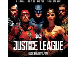 Vinil LP Danny Elfman - Justice League (Original Motion Picture Soundtrack) — Banda Sonora