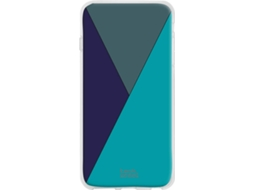 Capa Apple iPhone 11 Pro Max TECHCOOL Geometria Azul