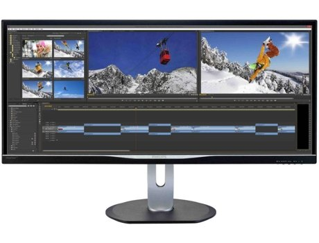 Monitor LED 34'' PHILIPS BDM3470UP — LED