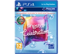 Jogo PS4 SingStar Celebration (Playlink) — Familiares / Idade mínima recomendada: 12
