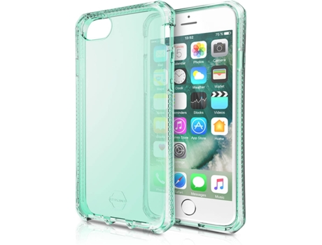 Capa ITSKINS Spectrum iPhone 6, 6s, 7, 8 Verde — Compatibilidade: iPhone 6, 6s, 7, 8