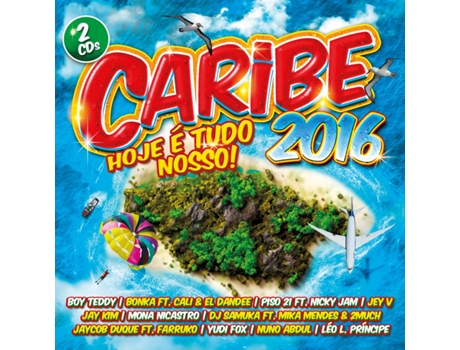 CD Caribe 2016 — Música do Mundo