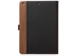 Capa Tablet WOODACESSORIES EcoFlip (iPad 9.7 v2017 - 9.7'' - Castanho) — Para iPad 9.7 v2017 | 9.7''