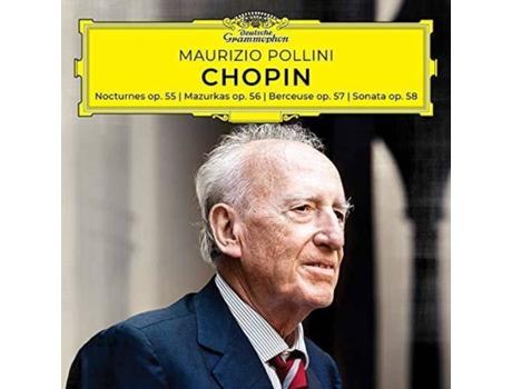 a8fd1b4811 CD Maurizio Pollini - Chopin - Nocturnes, Mazurkas, Berceuse, Sonata, Opp.