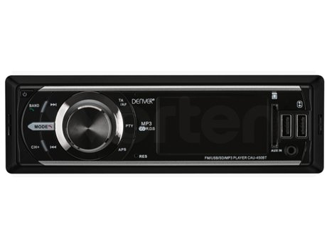 DENVER - Autorrádio DENVER CAU-450BT (Bluetooth Mãos Livres - USB - 4x25W)