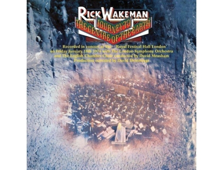 Vinil Rick Wakeman - Journey to the Centre of the Earth — Pop-Rock
