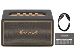Coluna Multiroom MARSHALL Acton Preto — Wifi, Bluetooth | 100 - 240 V