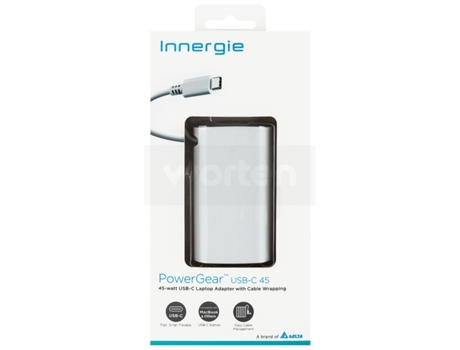 Carregador INNERGIE INNERGIE 45W — Compatibilidade: Universal