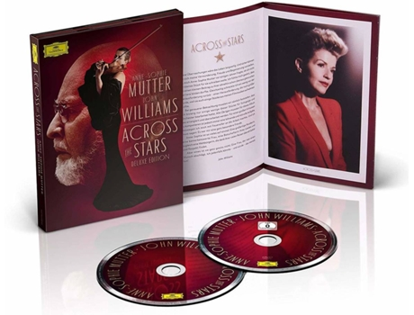 CD+DVD Anne-Sophie Mutter - Across The Stars: Deluxe (2 CDs)