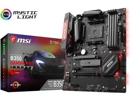Motherboard MSI B350 Gaming Pro Carbon — AMD B350 | AM4 RYZEN