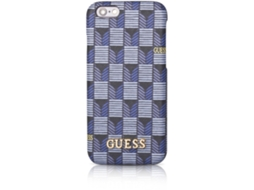 Capa GUESS Jet Set iPhone 6, 6s Azul — Compatibilidade: iPhone 6, 6s