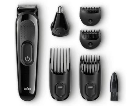 Máquina De Cortar Cabelo E Barba Braun Mgk3020