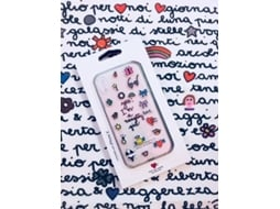 Capa SILVIA TOSI Stickers Naughty iPhone X — Compatibilidade: iPhone X