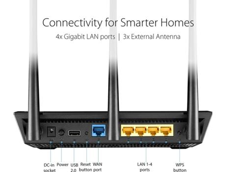 Router Aimesh Asus Rt Ac66u Ac1750 450 1300 Mbps Worten Pt