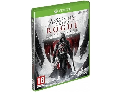 Jogo Xbox One Assassin's Creed Rogue (Remastered) — Ação/Aventura / Idade mínima recomendada: 18