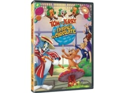 DVD Tom & Jerry - A Fábrica de Chocolate — Do realizador Spike Brandt
