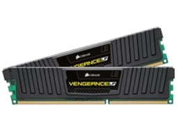 Memória RAM CORSAIR DDR3 2X4GB 1600 MHz Vengeance Low Profile — 2 x 4 GB / 1600 MHz / DDR3