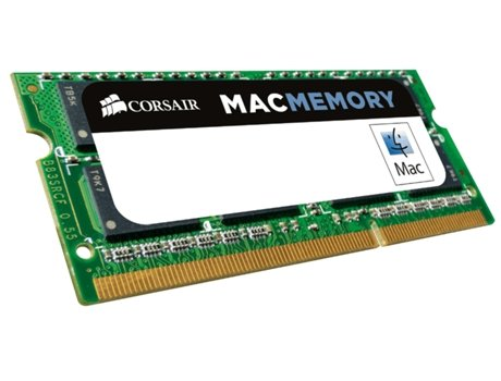 Memória RAM SODIMM CORSAIR DDR3 4GB 1333 MHz Apple Qualified — 4 GB / 1333 MHz / DDR3