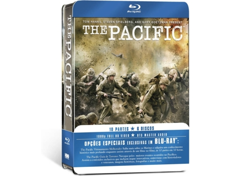 Blu-Ray Pack The Pacific (5 discos) — De: Tom Hanks, Steven Spielberg