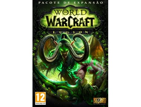 Jogo PC World of Warcraft: Legion — RPG / Idade Mínima Recomendada: 12