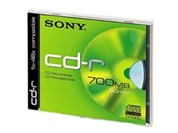 CD-Rom SONY CDq80nd — 700 MB | 48x | 1 unid.
