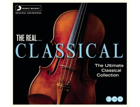 CD  various the real...classical — Clássica