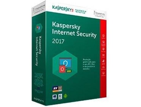 Software KASPERSKY Internet Security MD 4 User 1 Ano — Software de Segurança
