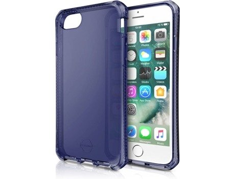 Capa ITSKINS Spectrum iPhone 6, 6s, 7, 8 Azul — Compatibilidade: iPhone 6, 6s, 7, 8