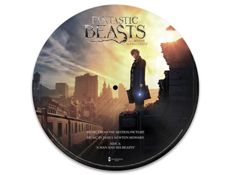"Vinil James Newton Howard - Music From The Motion Picture ""Fantastic Beasts And Where To Find Them"""