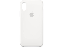 Capa APPLE Silicone iPhone X Branco — Compatibilidade: iPhone X