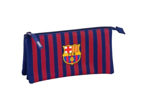 3a1bed8ea4193 Estojo SAFTA FC Barcelona Triplo plano